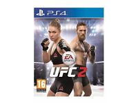 WANTED UFC 2 FOR PS4 CASH WAITING!!