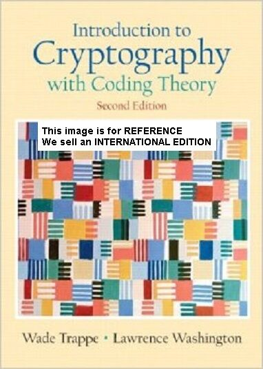 Introduction to Cryptography with Coding Theory Washington(Int' Ed Paperback)2 E