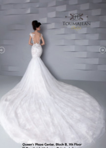 Gail Lahav Style Low Back Wedding Dress