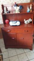 Cherry Wood Hutch For Sale!!