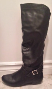 Black Lined Winter Boots