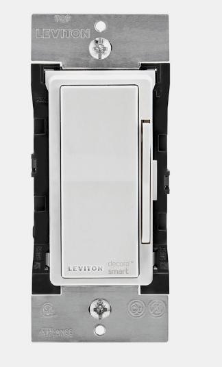 New!! LEVITON Decora Smart White WiFi SMART DIMMER SWITCH 15A 600 Watt DW6HD-RZ