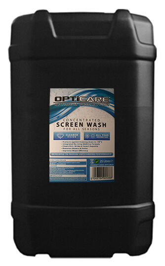 25 LITRE DRUM CONCENTRATED SCREEN WASH 25L ALL SEASON WINDSCREEN SCREENWASH NEW
