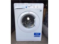 Hardly used Indesit Innex Washing Machine, XWSC61051W, 6KG Load, White