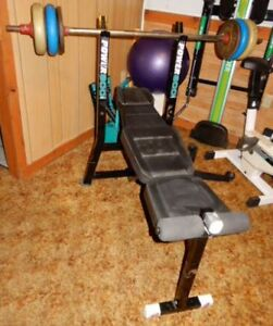 Exercise Equipment, Power 800 Bench