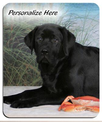 Labrador  Retriever  black  (8)  Personalized  Mouse -