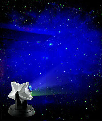 Cloud Effect (Laser Twilight Stars Projector Night Light Effect and Blue Cloud )