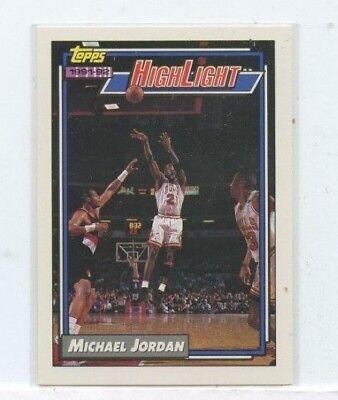 MICHAEL JORDAN 1992-93 TOPPS HIGHLIGHT #3 CHICAGO BULLS