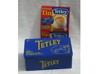 Tetley Tea vintage limited edition tin