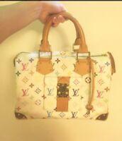 Authentic Louis Vuitton mamogram handbag