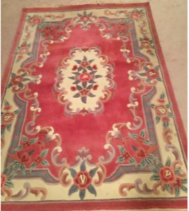 Pink Rug Dynasty Collection 7ft x 4.11ft