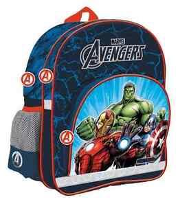 MARVEL AVENGERS School Bag Backpack Kids licensed quality ORGINAL HULK IRON MAN - <span itemprop='availableAtOrFrom'>Mogilno, Polska</span> - Zwroty są przyjmowane - Mogilno, Polska