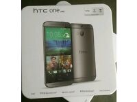 Sealed HTC One M8 (Unlocked) - 32gb - Grey