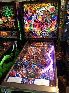 Looking for Circus Voltaire pinball machine