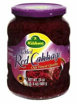 Pickled Red Cabbage (Kuhne) 24 -