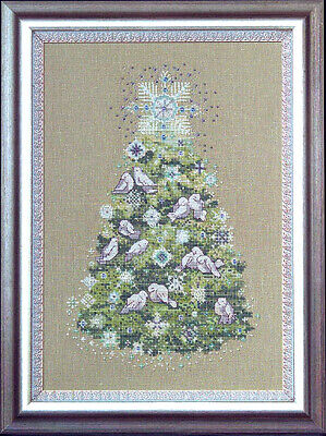 Mirabilia Nora Corbett Cross Stitch Kit Christmas Tree 2007