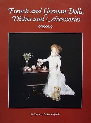 BOEK/BOOK/LIVRE : FRENCH & GERMAN DOLLS/POUPPEE,DISCHES/FRANSE DUITSE POP/POPPEN