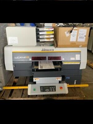 Mimaki Ujf-3042 Hg Ujf-3042hg Flatbed Uv Printer System