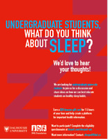 WANTED: Participants for focus group study about sleep