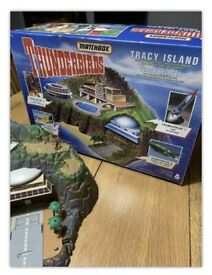 Tracey island set - thunderbirds toy!! Vintage