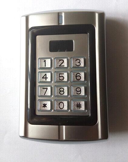 Metal Standalone Keypad & 125Khz EM Card Standalone Access Controller