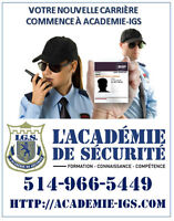 SECURITY AGENTS TRAINING - $16,59/H - SECURITY LICENCE FROM  BSP
