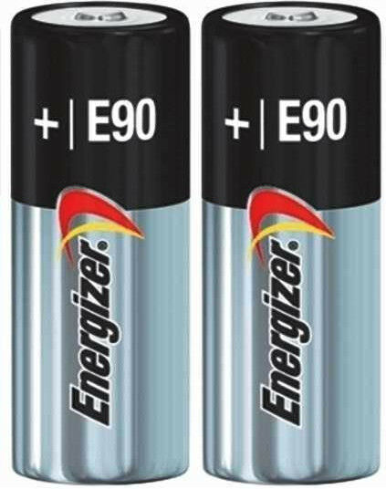 2 Pack New Energizer E90 N LR1 MN9100 910A 1.5V Alkaline Batteries EXP 12/2023