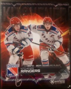 2010 - 2011 OHL Kitchener Rangers Signature Team Set Album