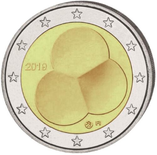 2 Euro Gedenkmünze Finnland 2019 SOFORT LIEFERBAR!!! 100 Jahre Verfassung Coin