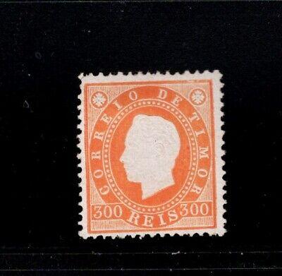 Timor 1887 300r King Luiz MH Sc 20