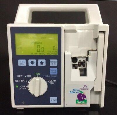 Hospira Abbott Plum Xl Micro Macro Iv Infusion Pump Intravenous Pump System