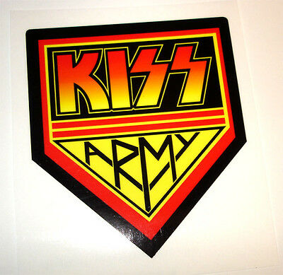 KISS ARMY rock band decal -