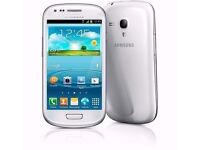 SAMSUNG GALAXY SMARTPHONE S3 MINI Locked to 02
