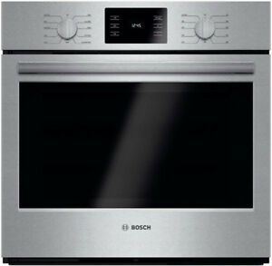 "Bosch HBL5451UC 500 Series 30"" Stainless Steel Single Wall Oven"