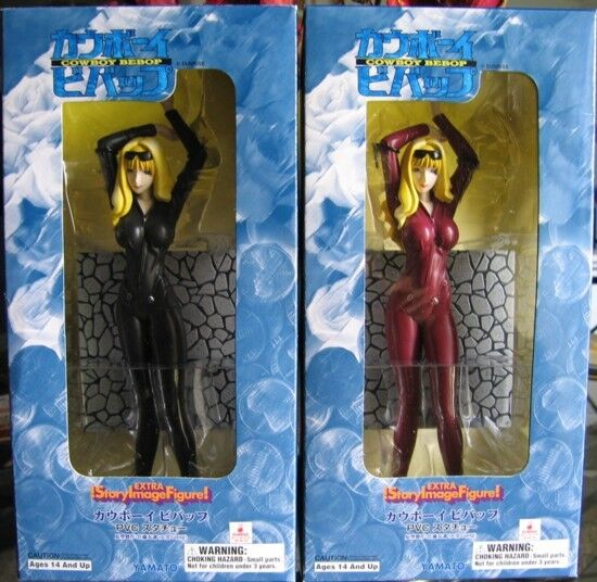 Cowboy Bebop Julia Anime set of 2 Black and Maroon ver. Sexy animes [code 107]