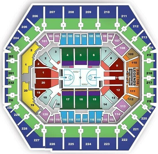 2 - Lower Level Sideline Tickets: Chicago Bulls vs. Indiana Pacers 1/29/20