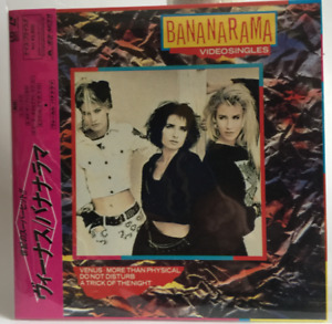 "BANANARAMA 8"" LD Laser Disc LaserDisc Video Singles not DVD"