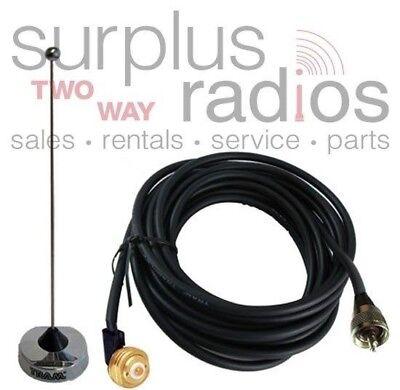 Nmo Uhf 14 Wave 410-490mhz Antenna Kenwood Tk8360 Tk8302 Tk8160 Tk8180 Nx800