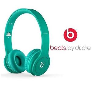 NEW OB BEATS SOLO HD HEADPHONES ON EAR - DRENCHED IN TEAL 82096016