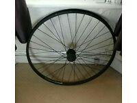 Mountain Bike 29'er front wheel (QR, disc hub)