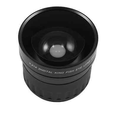 58mm 0.21x Fisheye Lens Wide Angle Macro for Canon Rebel T3i T3 T2i T1i T2 DSLR