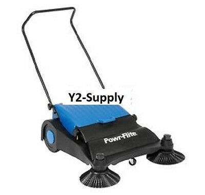 New Powr-flite Industrial Push Sweeper