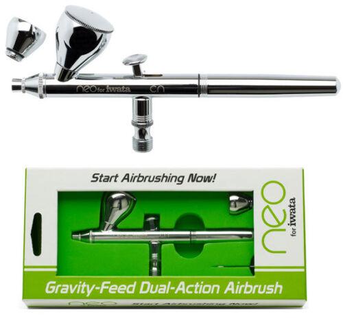NEW Iwata Neo Gravity Feed Dual Action Airbrush N4500 NIB IWAN4500-1
