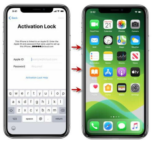iCloud Activation Bypass IPhone 8/8+/X (GSM) By ultrawiever