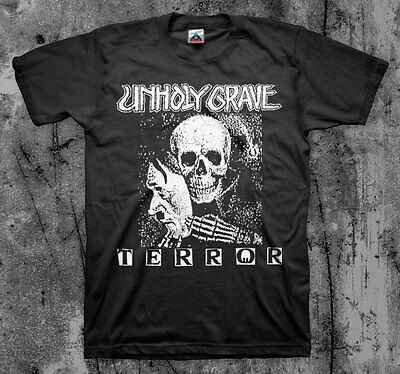 UNHOLY GRAVE 'Terror' T shirt (SOB Agathocles Mesrine Rot Insect Warfare)