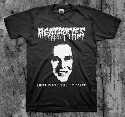AGATHOCLES 'Tyrant' T shirt (Mincecore Grind Unholy Grave Napalm )