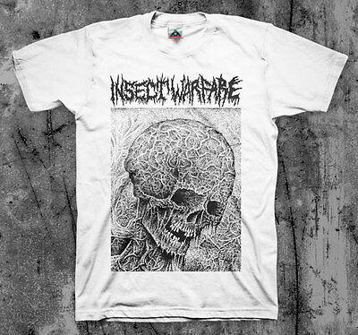 Insect Warfare Skull Colored T Shirt  Nasum Phobia Napalm