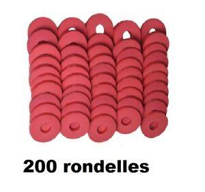 200 rondelle caoutchouc pour bouchon mecanique utilisee bouteille cidre limonade ebay. Black Bedroom Furniture Sets. Home Design Ideas