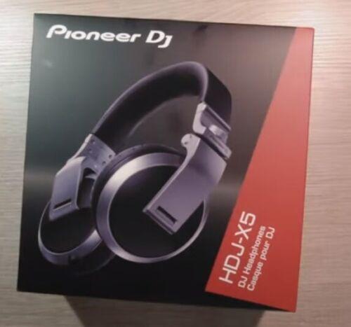 NEW Pioneer DJ HDJ-X5-S Over-Ear DJ Headphones (Silver)