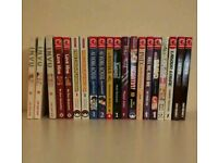 Various Manga novels
